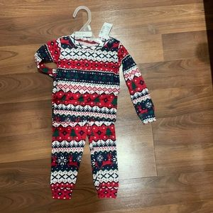 Never Been Worn Christmas PJs size 9-12m